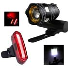 Led Headlight Usb Rechargeable Outdoor Bicycle Light Front Lamp Torch 3000mah