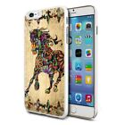 Premium Design Hard Case Cover for Various Mobiles - Colourful Horse