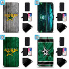 Dallas Stars Leather Case For iPhone X Xs Max Xr 7 8 Plus Galaxy S9 S8 $4.99 USD on eBay