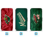 Minnesota Wild Sporty Leather Case For iPhone X Xs Max Xr 7 8 Plus Galaxy S9 S8 $4.99 USD on eBay