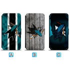 San Jose Sharks Sporty Leather Case For iPhone X Xs Max Xr 7 8 Plus Galaxy S9 S8 $4.99 USD on eBay