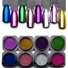 0.3g Magic Mirror Effect For Nails Powder Glitter Metallic Powder Shine Nails US
