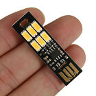 MINI Touch Switch USB Mobile Power Camping Lamp 6 LED Night Lights Lamp P AL