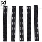"5.5"" M-LOK Rail Panel Cover Handguard Slot Covers Snap-in 5 PCS Pack Black / TanRifle - 73949"