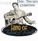 ELVIS - THE 50'S COLLECTION - MACHINE EMBROIDERY DESIGNS ON CD OR USB