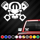 Piston Skull Vinyl Decal Sticker | Fits: Dodge Mopar Jeep Charger Ram Challenger $8.99 USD on eBay