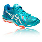 Asics Womens Gel-Volley Elite 3 Indoor Court Shoes Blue Sports Badminton