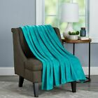Perfect Fuzzy Soft 70 x 60 Oversized Throw Couch Chair Blanket Velvet Luxury image