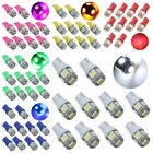 20x T10 W5W 192 168 5SMD 5050 LED Car Side Wedge Tail Light Rear Lamp Bulb US