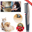 Electric Pet Dog Grooming Comb Cat Hair Trimmer Knot Out Remove Mats Tangle Tool