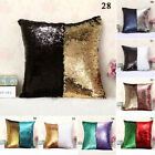 Pillow Case Magic For Home Bedroom Office Wedding Double Color Sequins Mermaid