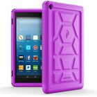 For Amazon Fire HD 8 2017 Case [Corner Protection] Silicone Cover 4 Color