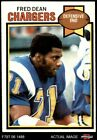 1979 Topps #152 Fred Dean Chargers EX $1.55 USD on eBay
