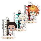 The Promised Neverland Acrylic Keychain Stand Strap Yakusoku No Cosplay New
