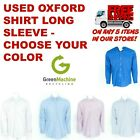 Used Oxford Shirts Long Sleeve Cintas Workrite Unifirst GK
