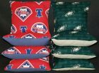 Set Of Philadelphia Eagles Phillies Cornhole Bean Bags FREE SHIPPING $28.99 USD on eBay