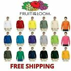 Fruit of the Loom Men's 100% Cotton Long Sleeve T-Shirt S-3XL L/S Tee 4930  image