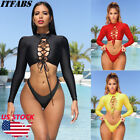 New Women Two-Piece Swimsuit Beachwear Swimwear Push-up Monokini Bikini Bathing