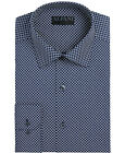 Alfani Athletic Fit Dress Shirt Mens AlfaTech Performance 2-Way Stretch Fabric