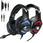 ONIKUMA K1 Pro Gaming Headset Stereo Headphone for PS4 Pro Xbox One PC with Mic
