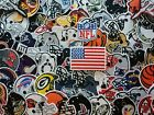 Football Helmet NFL Team Embroidered patch iron Sew on jacket hat bag shirt $2.76 USD on eBay