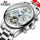 HAIQIN Chronograph Automatic mechanical Men Watches Bussiness Watch for men