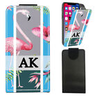 "Personalised INITIALS FLAMINGO Flip Phone Case For Elephone P6000 Pro (5"")"