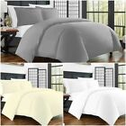 Luxury Bedding 400 Thread Count Duvet Quilt Cover Set /Fitted Sheet Pillow Cases image