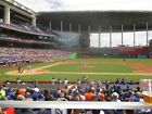 Marlins vs Milwaukee Brewers 9/10/19 (Miami) Row 1 - Behind Brewers Dugout