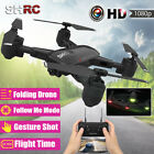 2019 2.4G 1080P Foldable RC Drone HD Camera Selfie WIFI FPV Devote oneself to Me Quadcopter