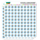 T-Rex-Ercise Exercise Dinosaur Funny Planner Calendar Scrapbooking Stickers