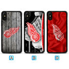 Detroit Red Wings Case For Apple iPhone X Xs Max Xr 8 7 6 6s Plus $4.99 USD on eBay