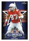 2019 Leaf Draft Football You Pick/Choose 1-100 Base AUTO Parallel FREE SHIPPING