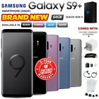 New Factory Unlocked SAMSUNG Galaxy S9 + Plus G965F Black Blue Grey Purple Phone