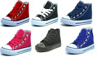 Внешний вид - New Lace Up High Top Baby Toddler Girls Boys Canvas Shoes Walking Sneakers