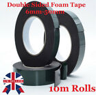 Black Super Strong Sticky Waterproof Adhesive Foam Car Body Double Sided Tape Uk