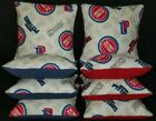 Set Of 8 Detroit Pistons Basketball Cornhole Bean Bags FREE SHIPPING on eBay