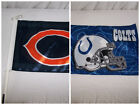 "INDIANAPOLIS COLTS CHICAGO BEARS Car Window FLAG 14"" x 11"" Your Choice of 2 NFL on eBay"