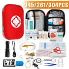 First Aid Kit Bag Emergency Medical Survival Treatment Rescue Military Camping