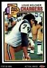 1979 Topps #525 Louie Kelcher - All-Pro Chargers NM $1.1 USD on eBay