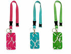 All For Color Women's Student Organization ID  Key Ring Lanyard - Choose Color
