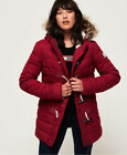 Superdry Tall Marl Toggle Puffle Jacket <br/> RRP £99.99 - BUY FROM THE OFFICIAL SUPERDRY EBAY STORE