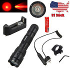 Tactical Red/Green 10000LM 3x XM-L T6 LED Hag Flashlighht Predator Torch Set