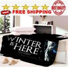 Game of Thrones Fleece Blanket Sofabed full/king/queen size unisex NEW BEST gift