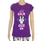 GEEK ON T SHIRT EMO ALTERNATIVE COSPLAY PARODY FLIP FLOP & FANGS