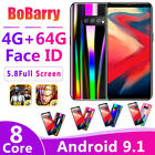 """Au Bobarry S11 Android 5.8"""" 4g+64g 1080x720 Dual Sim Full Screen Mobile Phone"""