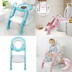 Baby Kids Potty Toddler Toilet Chair Training Seat with Step Stool Ladder Soft image
