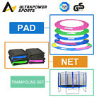 8FT 10FT 12FT 13FT 14FT Replacement Trampoline Safety Net Enclosure Surround Pad