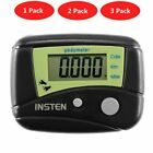 Mini Digital LCD Pedometer Walking Run Calorie Monitor Step Distance Counter