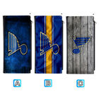 St. Louis Blues Leather Wallet Clutch Purse Women Thin Bifold $13.99 USD on eBay